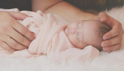 Zufriedenes Baby - Hypnobirthing